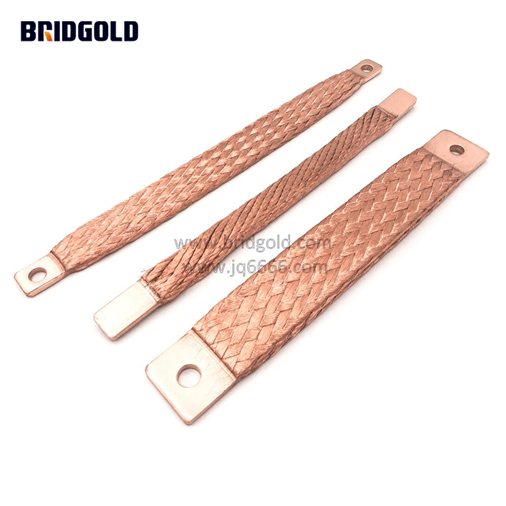The Flexible Function of Flexible Copper Braided Connector in the Conductive Connection of the Device 1