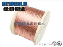 BGTSR(X) Type Flexible Copper Stranded Wires for Electric Brush Round Type: Single Wire Diameter: 0.05mm (AWG44), 0.07mm(AWG41)